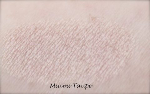 Lily Lolo Miami Taupe Swatch