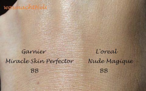 Garnier BB Cream versus L'oreal BB Cream