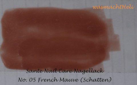 French Mauve Nagellack von Sante, Schatten