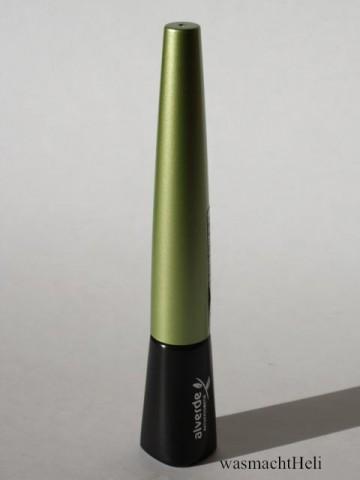 Foto zur Review: Alverde liquid eyeliner Flüssigliner schwarz