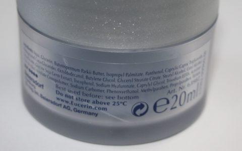 Eucerin Hyaluron Filler Night Inhaltsstoffe