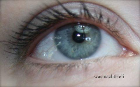 Foto Auge vorher ohne Isadora Kajal Inliner