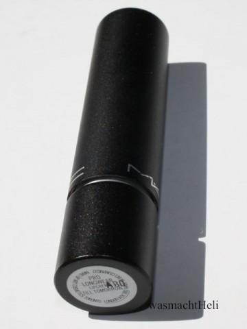 Review: MAC pro longwear lipcreme Lippenstift