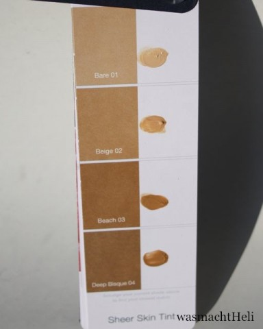 Swatches Liz Earle Sheer Skin Tint