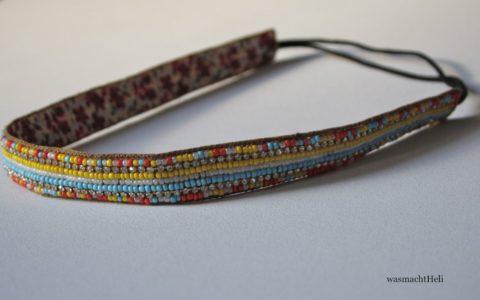 Asos glitzerndes Haarband mit Perlen
