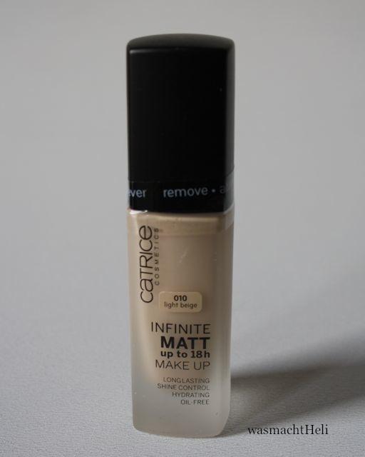 Blogpost zu Catrice Infinite Matt Foundation 010 light beige