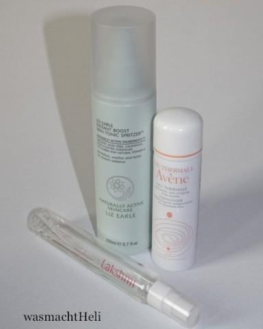 Review: Liz Earle Instant Boost Skin Tonic, Avene Thermalwasser, Lakshmi Rosenwasser