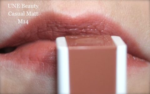 Lipswatch UNE Beauty casual matt colour M14