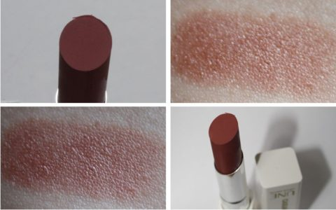 Swatches: UNE Beauty Casual Matt Colour Lipstick M14
