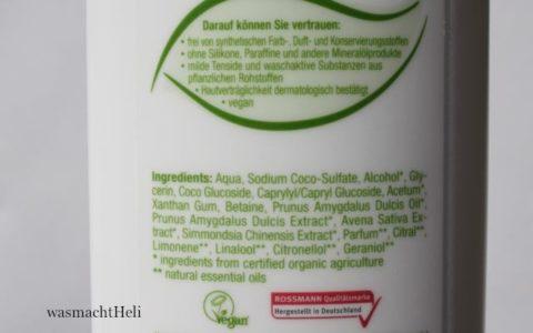 INCI Alterra Sensitiv Shampoo Mandel Jojoba