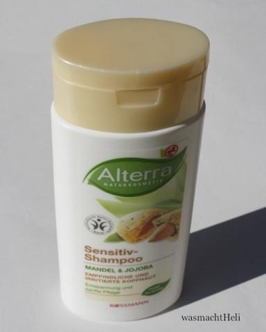 Foto zur Review: Alterra Sensitiv Shampoo Mandel Jojoba