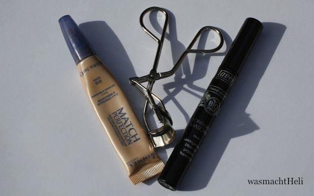 Foto meiner 3 Produkte vom Gesichtsmakeup