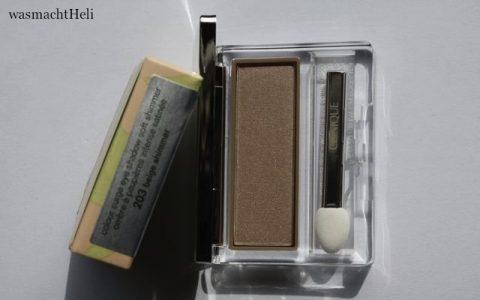 Foto zur Review: Colour Surge eyeshadow 203 beige shimmer
