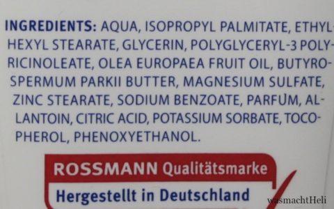 Isana Med Körpermilch Inhaltsstoffe