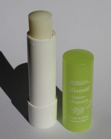 Foto zur Review: Olivenöl Lippenpflegestift