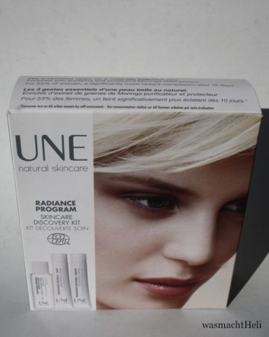 Foto zur Review: UNE Natural Beauty Radiance Skincare