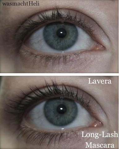 Ergebnis mit Lavera Long Lash Mascara