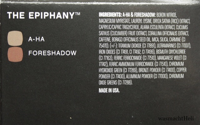 INCI BareMinerals The Epiphany Eyeshadow