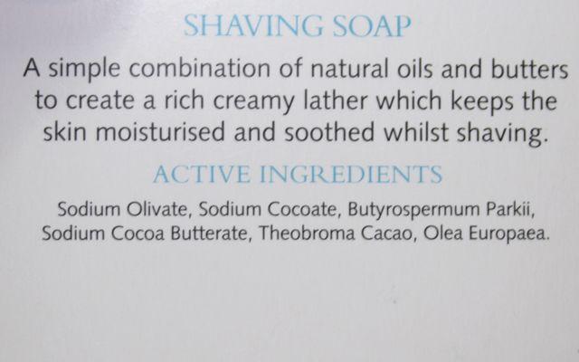INCI Trevarno Shaving Soap Rasierseife
