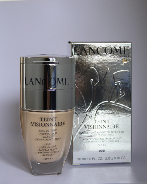 Lancome Teint Visionnaire Foundatione - 005 beige ivoire - Swatch + Review