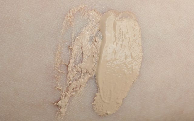 "Swatch: BWC Liquid Foundation ""sheer"", Catrice Infinite Matt Foundation ""010 - ivory"""