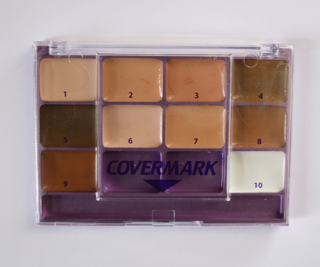 Review + Swatch: Covermark Foundation Sample Kit 1-10