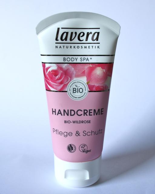 Lavera Body SPA Handcreme Rose Garden mit Bio-Wildrose