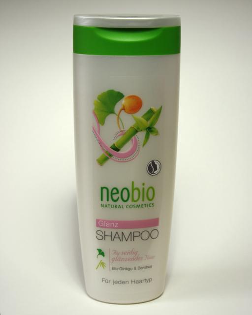 Neobio Glanz Shampoo für jeden Haartyp