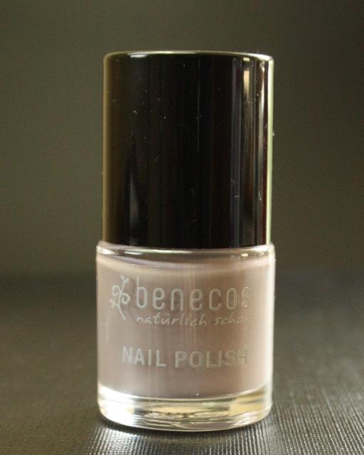 "Review + Swatch: Benecos ""urban grey"" Nagellack"