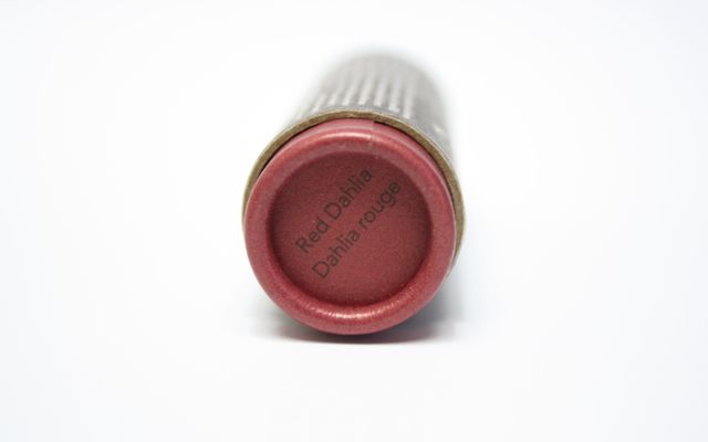 Review + Swatch: Burt's Bees Red Dahlia Tinted Lip Balm
