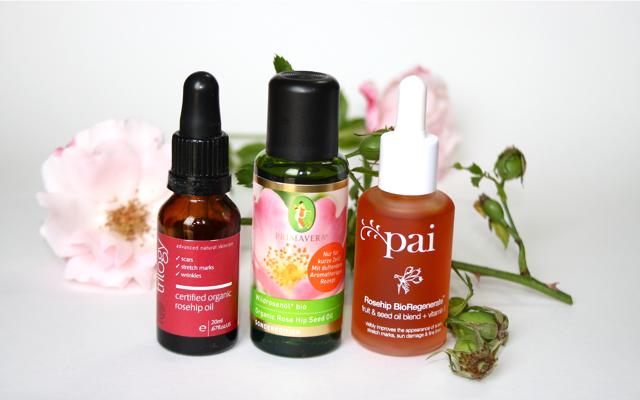 Trilogy Rosehip Oil, Primavera Wildrosenoel, Pai Organic Rosehip Oil