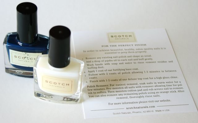 Scotch Nail Polish -Tips for the perfect finish