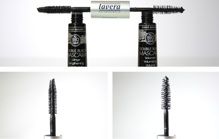 Lavera Trend Sensitiv Double Black Mascara schwarz