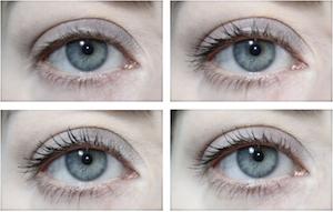 Swatch Lavera Trend Sensitiv Double Black Mascara Length+Volume