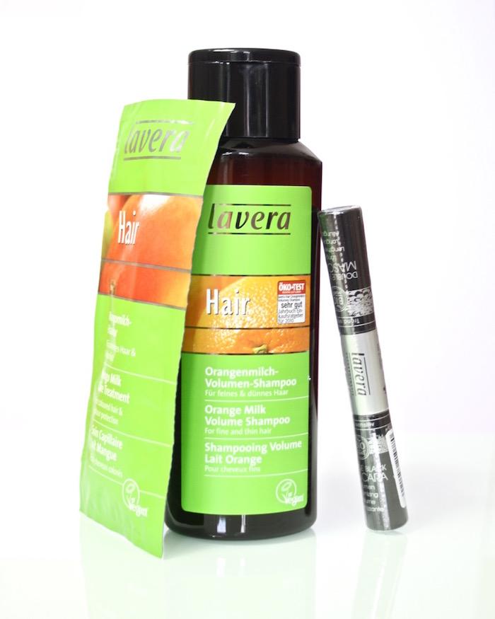 Review: Lavera Mango Shampoo und Haarkur + Lavera Double Mascara