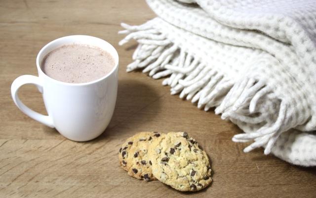 Kakao, Kekse, Kuscheldecke