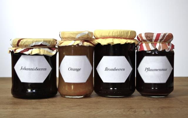 Herbst Marmelade selbst einkochen, Johannisbeere, Orange, Brombeere, Pflaumenmus