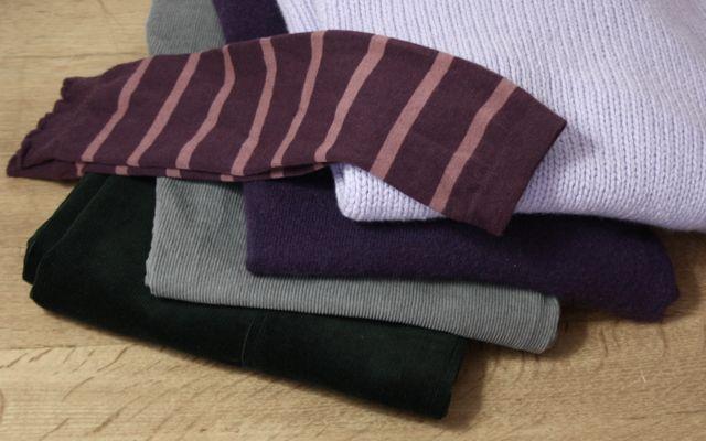 Herbst: Samt, Cord, Kaschmir, Wolle, Armstulpen