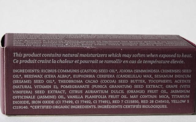 """INCI ILIA Tinted Lip Conditioner """"Shell Shock"""""""