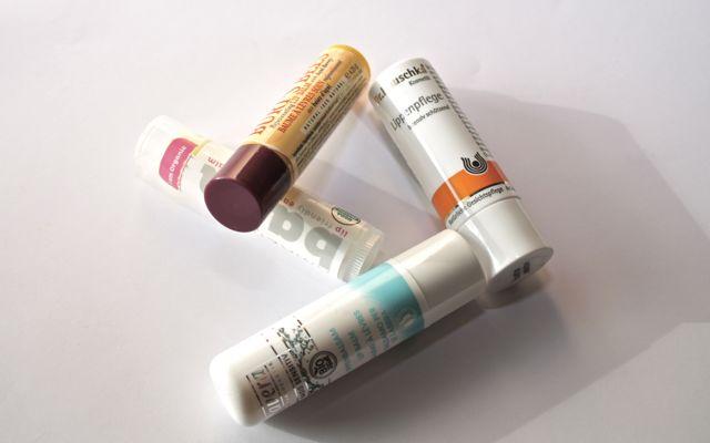 Lippenpflegestifte von Amazingy, Burt's Bees, Lavera und Dr. Hauschka