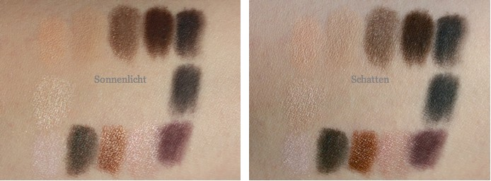 Swatches bareMinerals Mix Master READY Convertible Eyeshadow Palette