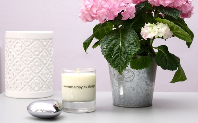 "Aromatherapy by Design Soy Wax Candle ""Refresh"""