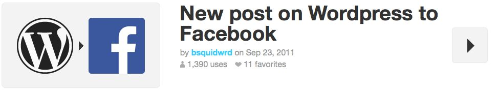 Social Media: WordPress to Facebook