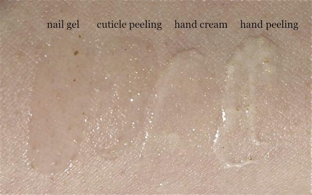 P2 So Gold Serie Hand und Nagelpflege Swatches