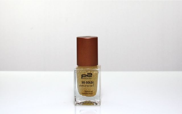 P2 So Gold Shake Up Top Coat Überlack
