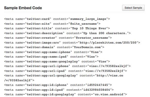 Social Media für Blogger - Twitter Cards