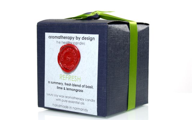 Aromatherapy by Design Soy Wax Candle