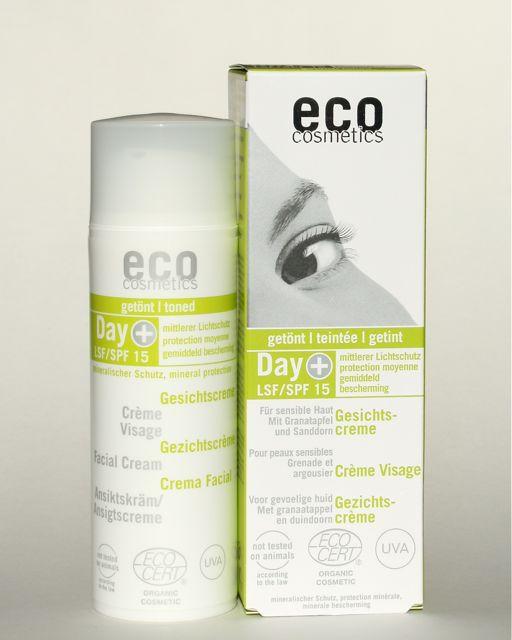 Eco Cosmetics Sonnencreme Tinted Day Cream