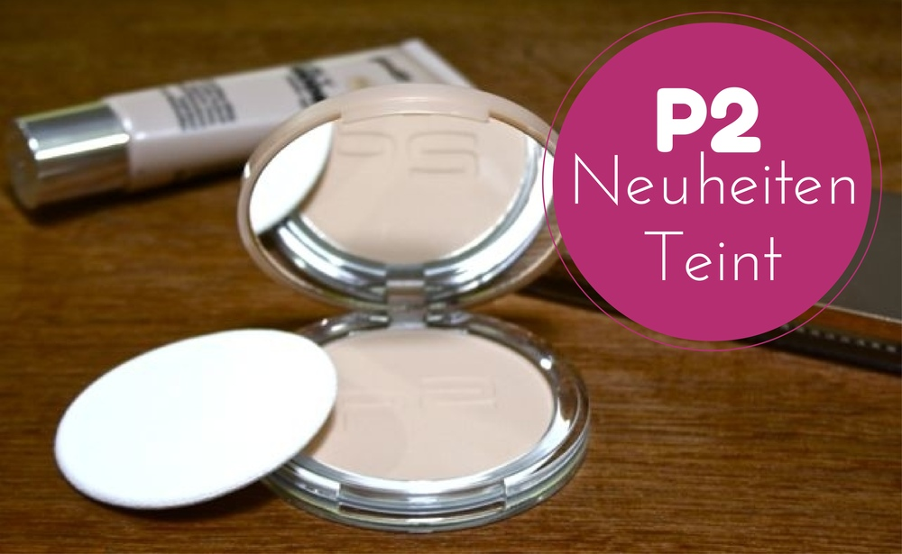 P2 Neuheiten nearly nude Foundation, Puder, all-in-one Compact Foundation