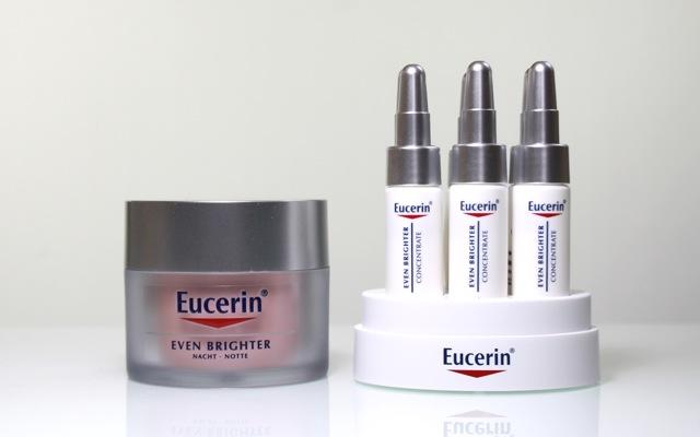 Testbericht: Eucerin Even Brighter Nachtcreme und Serum Konzentrat - meine Erfahrungen